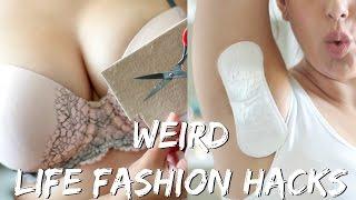 17 WEIRD FASHION LIFE HACKS EVERY GIRL SHOULD KNOW!   BeautyyBird
