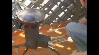Cocina, Sistema Rocket Stove. Ecococina