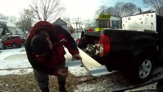 getlinkyoutube.com-Making snowblower/tractor truck ramps