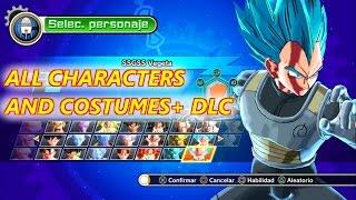 getlinkyoutube.com-Dragon Ball Xenoverse | Todos los Personajes y Trajes + DLC | ANÁLISIS