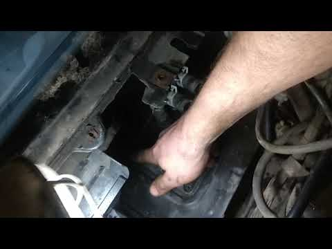 Снятие радиатора печки форд ка и регулятора печки форд ка