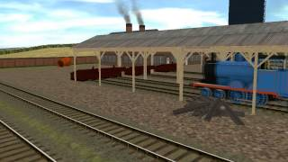 getlinkyoutube.com-Thomas & The Magic Railroad Different Version of Diesel 10 Chasing Thomas and Lady