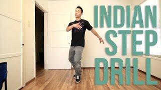 getlinkyoutube.com-How to Breakdance | Indian Step Drill | Top Rock Basics