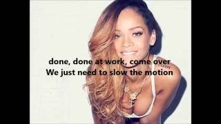 getlinkyoutube.com-Rihanna - Work ft. Drake Lyrics