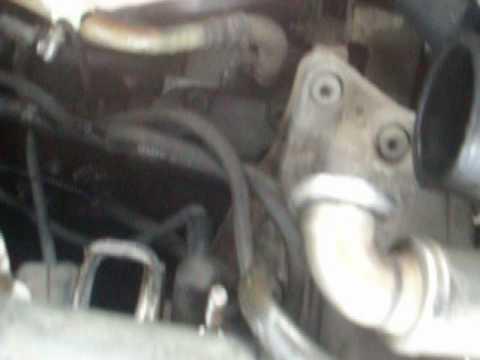 BMW X5, ошибка клапана регулировки давления в рейке.