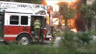 getlinkyoutube.com-The Entire Gary Fire Department Responded To This Fire!