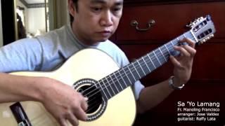 Sa Yo Lamang - M.V. Francisco, SJ (arr. Jose Valdez) Solo Classical Guitar