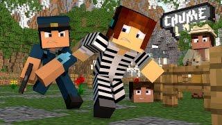getlinkyoutube.com-Minecraft : PRESOS NO CHUME LABS !! - ( Polícia e Ladrão)