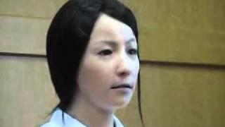 getlinkyoutube.com-Unbelievable Japanese Female Robot امرأة يابانية لن تصدق انها الية