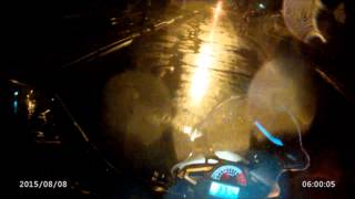 getlinkyoutube.com-Primer dia con la Corven Touring 250 // Zongshen RX3 - Bajo lluvia