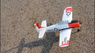 getlinkyoutube.com-Parkzone Ultra Micro T-28 Flight Review