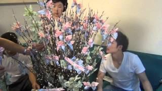 """getlinkyoutube.com-BooN ทำต้นผ้าป่า สตาร์สามัคคี"""" ร่วมกับแฟนคลับ"""""""