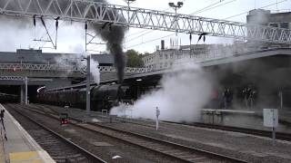 getlinkyoutube.com-46233 Duchess Of Sutherland The London Explorer Sheffield To Euston 20 10 2012