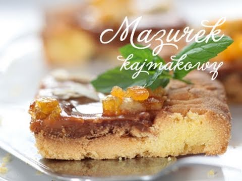 Mazurek kajmakowy | DOROTA.iN