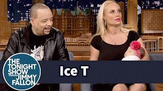 Ice T and Coco Bring Baby Chanel to The Tonight Show