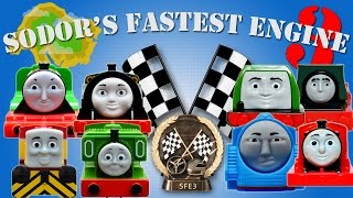getlinkyoutube.com-Sodor's Fastest Engine 3 | Thomas and Friends Trackmaster | The Great Race