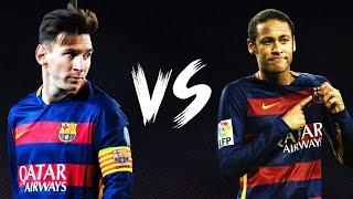 getlinkyoutube.com-Neymar jr vs Lionel Messi Dribles e Gols 2016