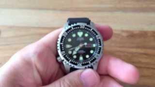getlinkyoutube.com-Citizen Promaster Sea NY0040-09EE Review