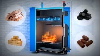 getlinkyoutube.com-Принцип работы твердотопливного пиролизного  котла длительного горения «Траян»