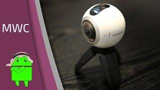 نظره أولى على كاميرة Gear 360 من سامسونج