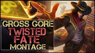 getlinkyoutube.com-Gross Gore Montage - Best Twisted Fate Plays