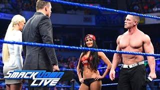 John Cena and Nikki Bella storm onto