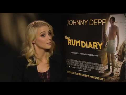 Amber Heard Interview -- The Rum Diary