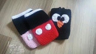 getlinkyoutube.com-Tutorial Funda Smartphone a Crochet o Ganchillo Paso a Paso en Español