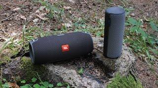 getlinkyoutube.com-JBL Xtreme vs. UE Megaboom - outdoor soundcheck