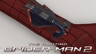 getlinkyoutube.com-The Amazing Spider-Man 2 Unused Web-Shooters With MP3 Player
