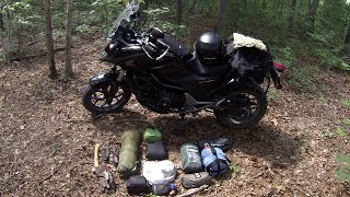 getlinkyoutube.com-Motorcycle Camping Equipment