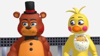 getlinkyoutube.com-Toy freddy x Toy chica Remastered By Mr.Derian