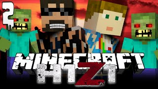 Minecraft H1Z1 [2] | Take over Cumernauld!!
