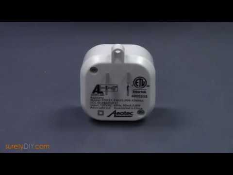 How to pair an Aeotec Z-Wave Repeater with a Qolsys IQ Panel 2