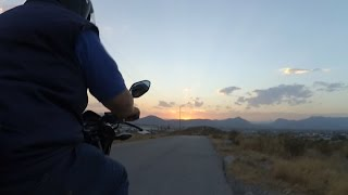 getlinkyoutube.com-Cuarto Video: Honda CB1 subida en pendiente. Y sonido con Zoom H1