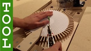 getlinkyoutube.com-How to Make Wooden Gears with a Router