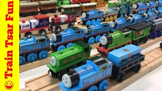 🔴 Thomas Wooden Railway 123 Build Knapford Station Trains