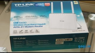 getlinkyoutube.com-TP-Link Archer D9 AC1900 review - Wireless Dual Band Gigabit ADSL 2+ modem router