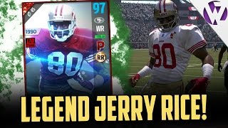 getlinkyoutube.com-JERRY RICE IS A BEAST!!! - MADDEN 17 JERRY RICE GAMEPLAY + REVIEW - JERRY RICE STREAM HIGHLIGHT!!