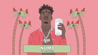 21 Savage - Numb (Official Audio) width=