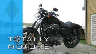 getlinkyoutube.com-Harley Davidson Iron 883 vs Street 750 Road Test - HD | Totally Motors