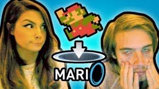 getlinkyoutube.com-MARIO + PORTAL = RAGE (mari0)