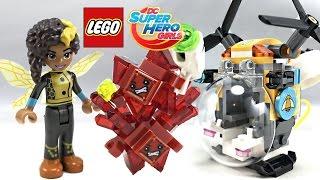 getlinkyoutube.com-LEGO DC Super Hero Girls Bumblebee Helicopter review! 2017 set 41234!
