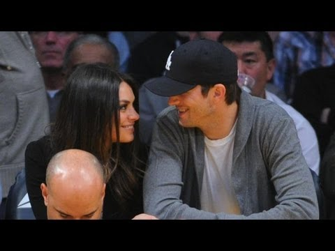 Mila Kunis Talks Ashton Kutcher on The Ellen Show