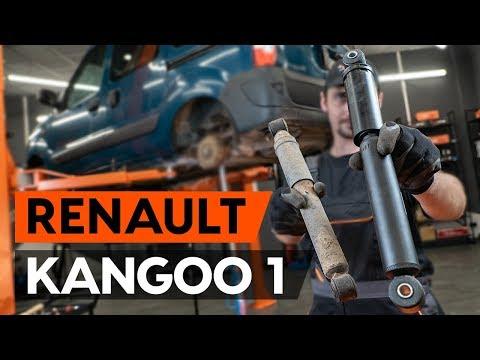 Как заменить задний амортизатор на RENAULT KANGOO 1 (KC) (ВИДЕОУРОК AUTODOC)