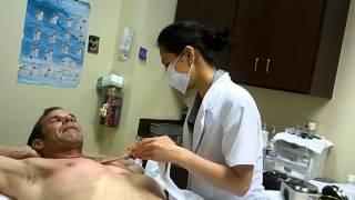 getlinkyoutube.com-Male First Time Chest Wax .......OMG