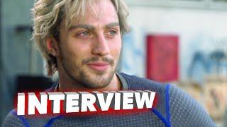 "getlinkyoutube.com-Marvel's Avengers: Age of Ultron: Aaron Taylor-Johnson ""Pietro Maximoff / Quicksilver"" Interview"