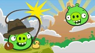 getlinkyoutube.com-Bad Piggies - The Road to El Porkado - Level 6-1 to Level 6-3 - 3 stars