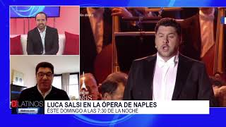 Entrevista con el barítono Luca Salsi quien participará en la Opera de Naples
