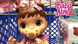 getlinkyoutube.com-Baby Alive Better Now Bailey & the Quest for the Missing Head Peg Toys R Us Outing and Haul